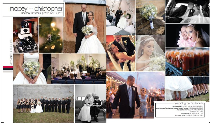 Lindsay Vallas Photography Featured Christmas Wedding