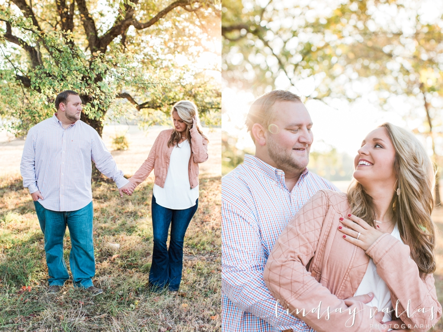 central mississippi engagement session nikki and kyle