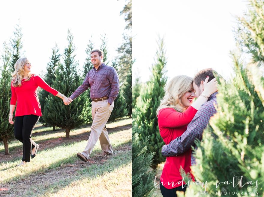 Mississippi Christmas Tree Farm Engagement Session ...