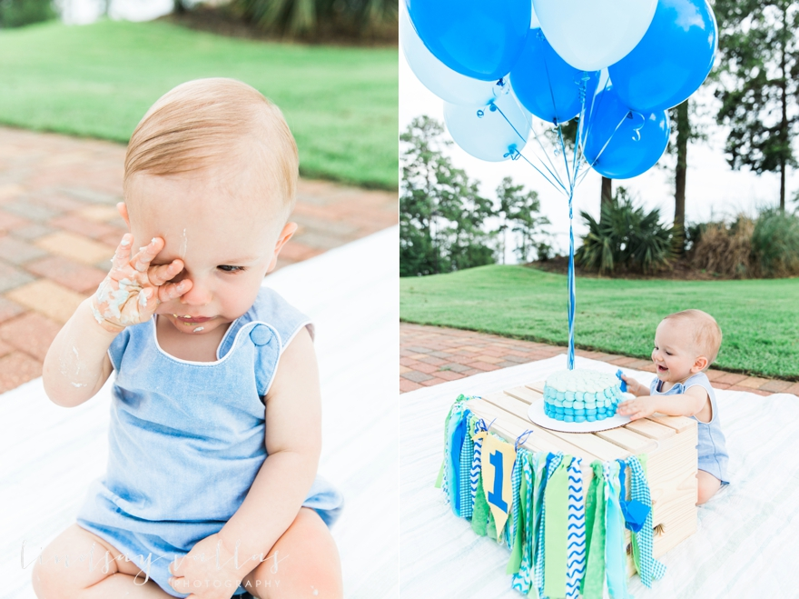 Ethans Smash Cake_Mississippi Family Photographer_Lindsay Vallas Photography_0020