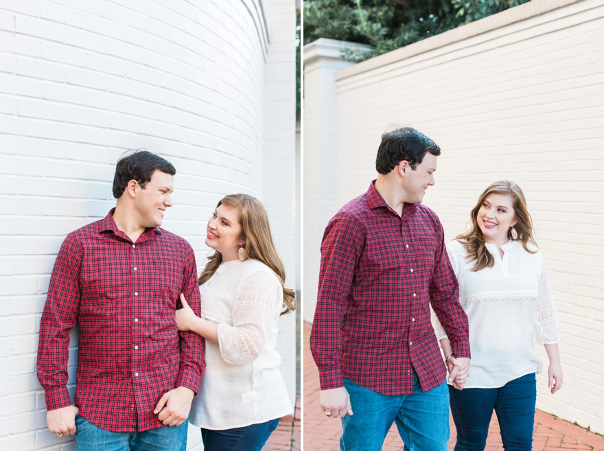 Beth & Austin MS Engagement Session - Mississippi Wedding Photographer - Lindsay Vallas Photography_0001